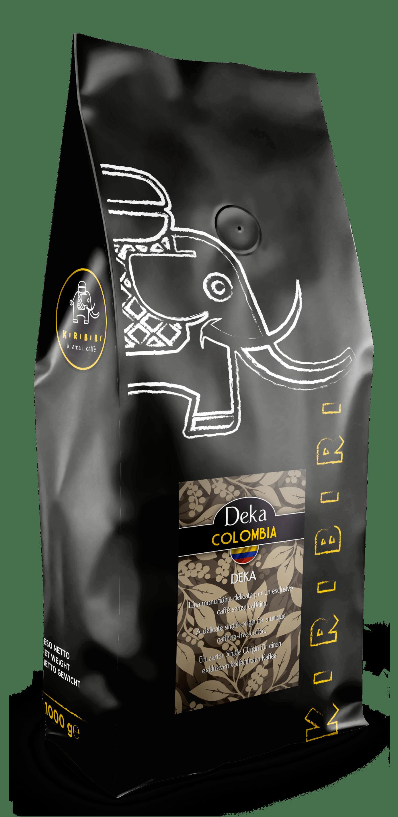 Kiribiri Colombia Decaffeinated Coffee Beans