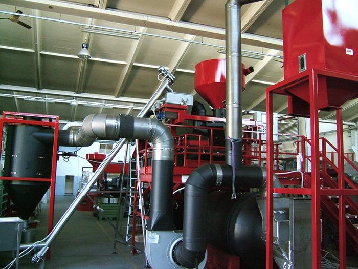 STA Impianti THOR FKT Coffee Roasting Machine