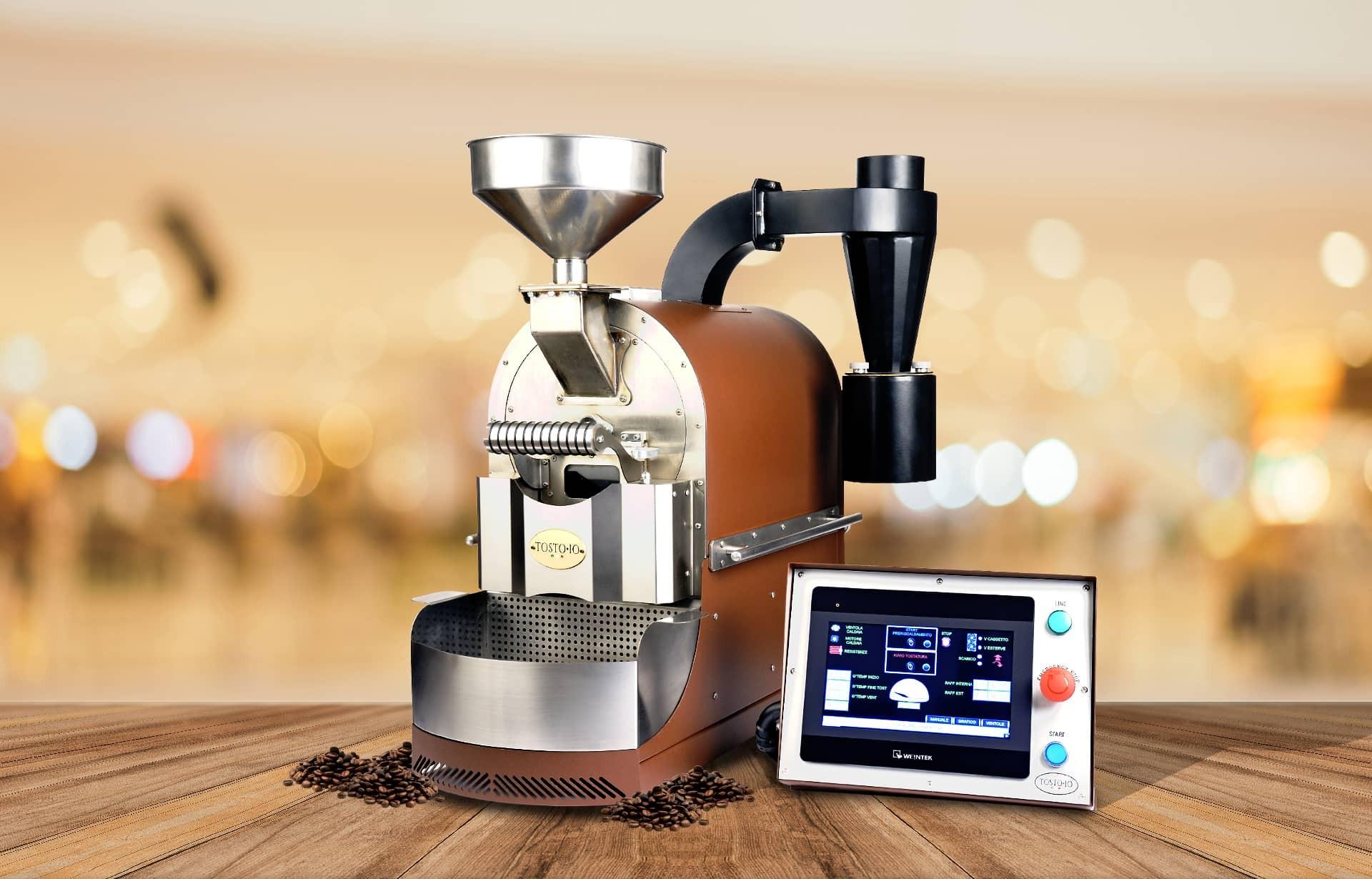 Tostoio Futura Coffee Roasting Machine